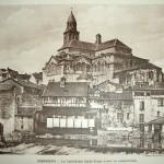 Carte postale cathédrale Saint-Front XVIIIe siècle