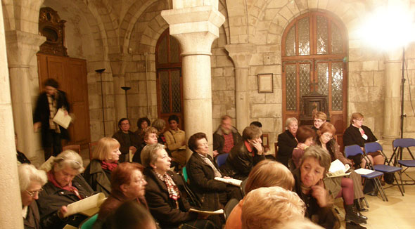 Conférence organisée par les Amis de la cathédrale Saint-Front de Périgueux