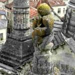 Statue sur clocheton de la cathédrale Saint-Front de Périgueux